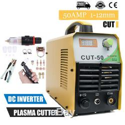 Cut50 110v / 220v Plasma Cutter 50a Digital Inverter Air Plasma Machine De Découpage