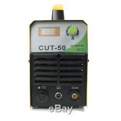Cut50 Air Plasma Cutter 50amp 110 / 220v Onduleur Électrique Numérique De La Machine De Coupe
