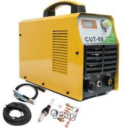 Cut50 Plasma Cutter Inverter DC 50a 230v Air Cutting Machine Cut 12mm Et Kits Torch