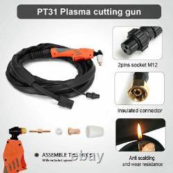 Cut55 40a Cutter À Plasma D'air Portable Igbt Inverter Numérique 220v Soudeur