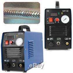 Cut-50, 50 Amp Plasma Cutter Hf Digital Inverter Plasma Machine De Découpage Eur Igbts