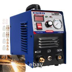 Cut-50 50amp Air Plasma Cutter Onduleur Pt31 Digital Cutting Machine Igbt 1-12mm