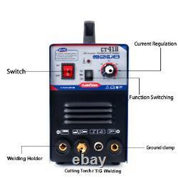 Cut & Tig & Mma Air Ct312 Plasma Cutter 3 Fonctions Dans 1 Combo Welding Machine