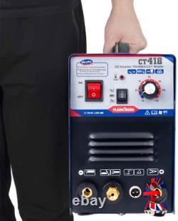 Cutter Plasma De Qualité 30a Tig/mma Soudeur 120a 3 En 1 Combo Soudeuse Hf S