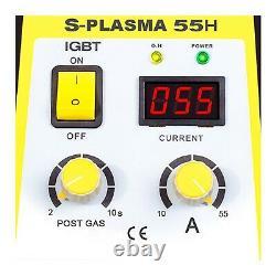Cutter Plasma Machine De Découpage En Métal Machine 55a 230v 17mm Affichage Numérique