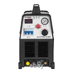 Cutter Plasma Machine De Découpage En Métal Machine 70a 400v Pilote Arc Air Cooled