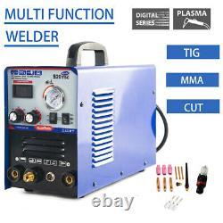 Cutter /tig /mma Air 520tsc 3 En 1 Machine De Soudage À Coupe-plasma Jusqu'à 1/2 Pouce