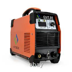 Digtal Cut55 Air Plasma Cutter 110v 220v Igbt Inverter Pilot Arc Cutter Machine