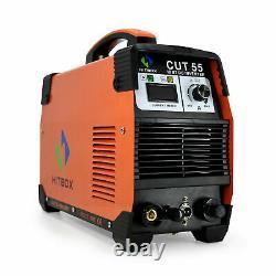 Digtal Cut55 Air Plasma Cutters Pilot Arc 220v 50a Inverter Machine De Coupe D'air