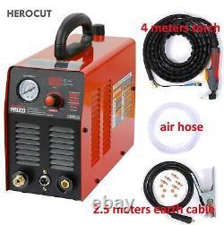 Herocut 220v Plasma Cutter Igbt Plasma Cutting Machine Cut45 10mm Clean Cut Grea