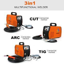 Hitbox 3in1 Machine De Soudure 50a Air Plasma Cutter 200a Tig / Memory Stick / Mma / Arc Soudeur