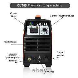 Hitbox 50amp Air Plasma Cutter Cut-55 Inverter Igbt Pilot Arc Cut Machine