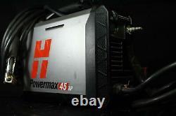 Hypertherm Powermax 45 Xp Plasma Cutter 25' Machine System Avec Duramax Lock Torch