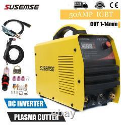 Igbt 50a Plasma Cutter Pilot Arc Non-touch Air Cutting Machine Cnc Compatible