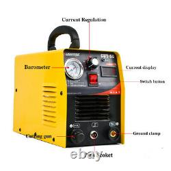 Igbt 50amp Hf Air Plasma Cutter Machine Cut 14mm 230v Consommables