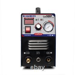 Igbt Air Plasma Cutters 50amp Hf Inverter Cut Welding Machine Cleanly Cutting GB