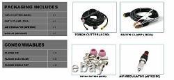 Igbt Cut60 Plasma Cutter Machine 220v 60amps 3/4 Clean Cut & Ag60 Torche