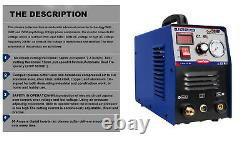 Igbt Machine De Découpe De Plasma Bleu Cut50 Hf Air Cut 14mm 50a 230v+consommables