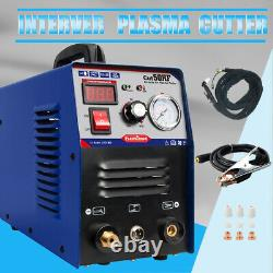 Igbt Plasma Cutting Machine Blue Cut50 Hf Air Cut 14mm 50a 230v+consommables