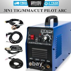 Inverter DC Tig / Arc / Cut Machine De Soudure 3in1 Pilote Arc Plasma Cutter & Soudeur
