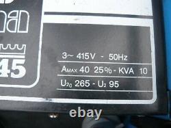King 45 Plasma Electric Air Cutting Machine 1-10mm Coupeur 3ph 3 Phase 415v