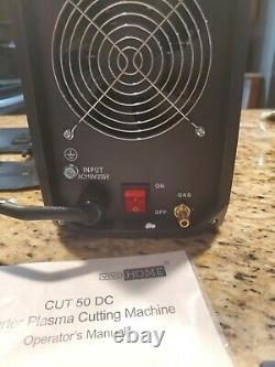 Machine De Coupe De Cutter À Plasma D'onduleur DC Portable Double Tension 110v/220v Cut-50