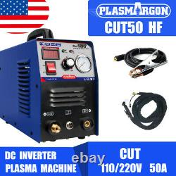 Machine De Cutter Plasma 50amp Double Tension DC Coupe Onduleur 1-12mm Travail En Métal