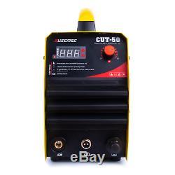 Machine De Découpage De Plasma Hf Air Cut50 Igbts Cut 14 MM 50a 110 / 220v + Consommables