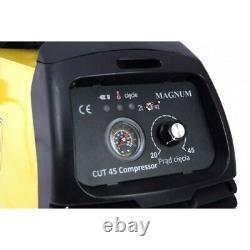 Magnum Cut 45 Compresseur Cuttre Plastique Coupe Machine