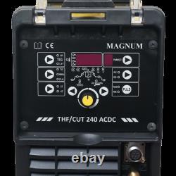 Magnum Thf / Cut 240 Ac / DC Tig Onduleur Coupe De La Machine De Découpe Au Plasma Soudeur