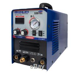 Mma / Tig / Cut 200a Machine De Soudure 230v 50a Plasma Cutter 3in1 Multifonction Weld