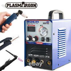 Multifonction 3 En 1 Tig/arc/ Plasam Cutter Soudeur Machine De Soudage 50a 110/220v