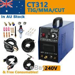Multifonction Tig / Mma / Cut 3 In 1 Plasma Cutter Soudeur Machine De Soudure 240v