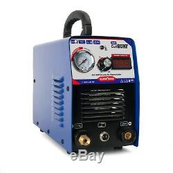 Nouveau 60a Air Plasma Cutter Coupe Portable Machine & Igbt Ag60 Torch & Clean Cut