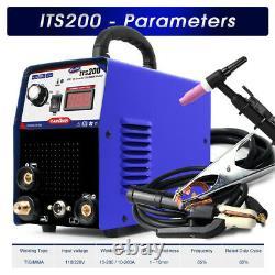 Onduleur Tig/mma Arc 2in1 Machine De Soudage 110/220v Wig Welder Machine Vente À Chaud