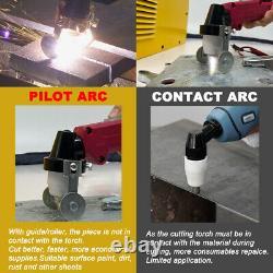 Pilote Arc Cut-50, 50 Amp Plasma Cutter Hf Onduleur Numérique Machine À Découper Igbt