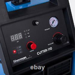 Plasma Cutter 110 Sherman 400v Trois Phases Coupe La Machine De Coupe Jusqu'à 40mm