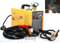 Plasma Cutter 40 Amp Machine De Coupe D'onduleur D'air Avec Torche Et Régulateur