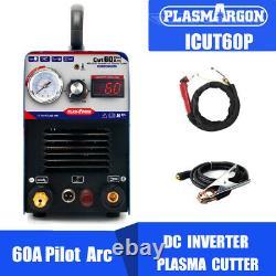 Plasma Cutter 60a Machine Pilote Igbt Arc Cnc 230v Wsd60p Troch & Consommables
