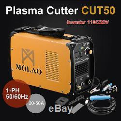 Plasma Cutter Cut50 Digital Inverter 220 V Double Tension Machine De Coupe