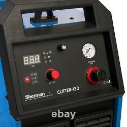 Plasma Cutter Machine De Découpe Jusqu'à 45mm Sherman 130 Torche De Poche 400v 3ph