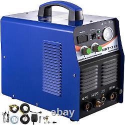 Plasma Cutter Tig Ct312 Tig Mma Arc Soudeur 3 En 1 Combo Machine De Soudure