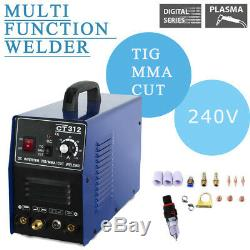 Plasma Cutter Tig Mma Welder Inverter Cutter 3in1 Machine À Souder Et Consommables