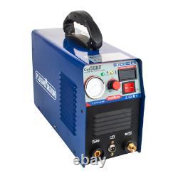 Plasmargon Cut-50 Hf Plasma Cutter Machine De Coupe Haute Fréquence Cutter 220v DI