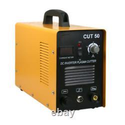 Pro 50 Amp Cut-50 Inverter Machine De Coupe D'air Cutter Plasma Soudeur Double Tension