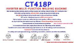 Soudeur Tig Mma Coupe Machine De Soudage Ct312 Pilote Arc Plasma Cnc Compatible