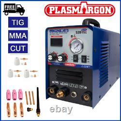 Tig / Mma / Cut 520tsc Plasma Displacer Machine À Souder