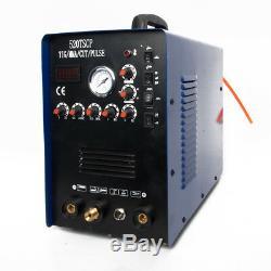 Tig / Mma / Pulse Memory Stick Welder Plasma Cutter Onduleur Igbt 110 / 220v Machine De Soudure
