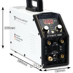 Tig Stahlwerk Ct 550st Avec Plasma Cutter Machine De Soudure Inverseur Igbt