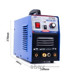 Tig/mma/cut Soudeuse Ct418 Soudeuse Argon Cutter Plasma & 5m Torche Coupée Pt31